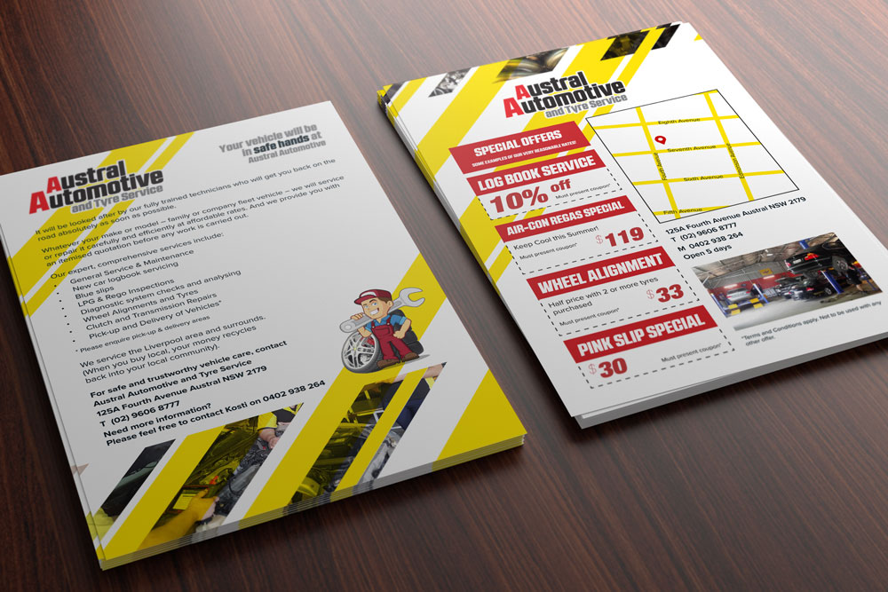 flyer design and flyer printing